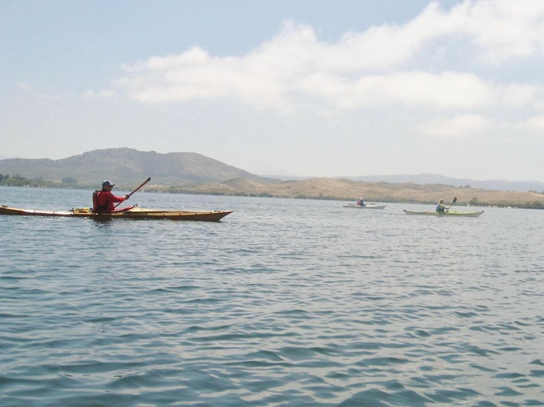 Valley wide kayak club for Lake skinner fishing